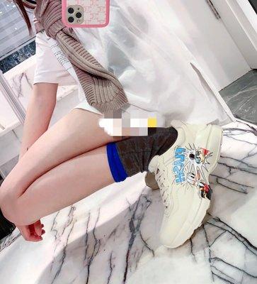 【WEEKEND】 GUCCI x DISNEY 迪士尼 聯名 唐老鴨 Rhyton 女款 休閒鞋 646506