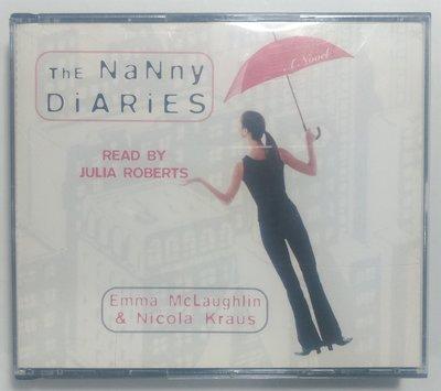 豪門保姆日記 The Nanny Diaries 大字版及有聲書(茱莉亞羅勃茲朗讀 4CD) 封面紙遺失
