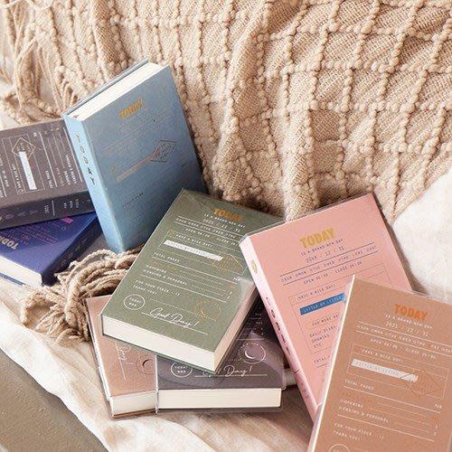 ❅PAVEE❅ 韓國7321~日記 萬年版 M號 Sleeping Diary 胡思亂想 精裝硬版日記本 手帳