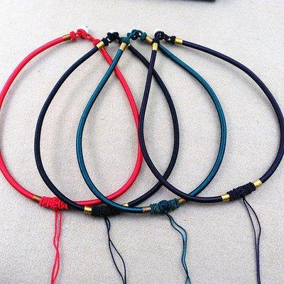 特價飾品-精編項圈項鏈繩 原創手工編織精品項圈項鏈繩鎖骨鏈女款吊墜掛繩(200元起購)
