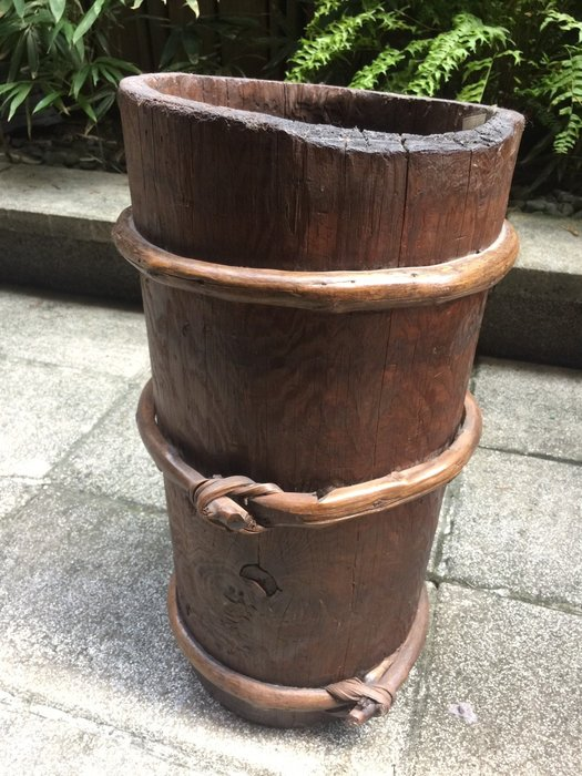 【一(藝)窩】十九世紀 木桶~榆木~