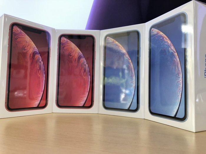 【敦富通訊】Apple iPhone XR 64G 6.1吋 空機免綁約~全新未拆原廠公司貨 搭門號另有優惠