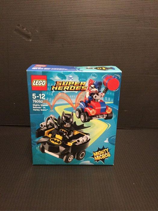COME 玩具 LEGO 76092 蝙蝠俠大戰小丑女 正義聯盟 DC 聯盟