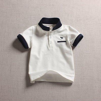【Mr. Soar】 C232 夏季新款 韓國style童裝男童網眼短袖POLO衫 現貨