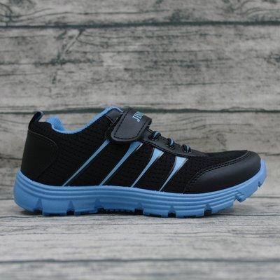 ※555鞋※Jimmy polo 19044 透氣網布 多功能運動鞋 MIT台灣製 魔鬼氈 藍色