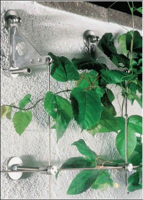 FUJEN 綠化植生/外牆植物攀爬/室內外植物綠化/ 展示架/景觀設計/減碳綠化/鋼索網