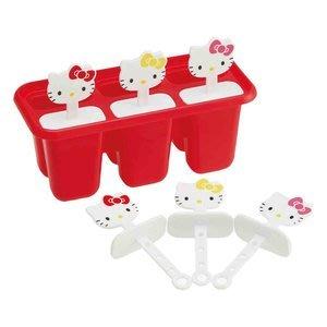4165本通 凱蒂貓 KT 製冰器(六格/紅/立體頭)4973307365195 下標前請詢問