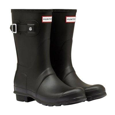 Hunter Original Short 霧黑色雨靴 英國正品代購 3850含運