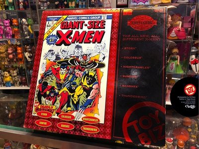 Artlife @ TOYBIZ MARVEL X-MAN GIANT SIZE COVER 經典封面系列 公仔老玩具