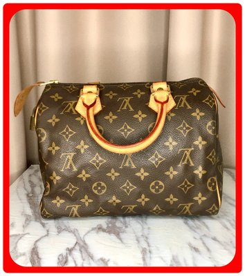 【 RECOVER 名品二手 SOLD OUT】Louise Vuitton Speedy 25 手提包
