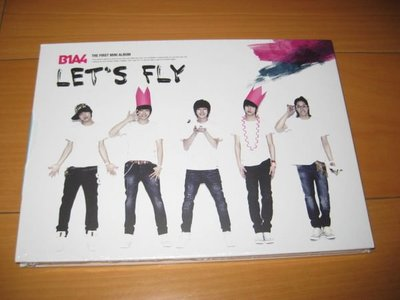 B1A4【韓國首張迷你專輯 - Let's Fly】CD韓國首張迷你專輯 韓版