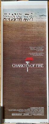 奧斯卡金像獎最佳影片 - 火戰車 (Chariots of Fire) - 美國原版長柱形電影海報 (1984年)