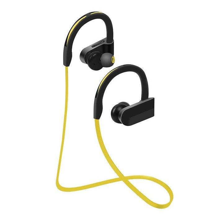 全新運動藍牙耳機4.1無線耳掛式防汗水藍牙運動耳機iPhone Plus SE i5s k65