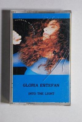 錄音帶 /卡帶/ S42/英文/GLORIA ESTEFAN/ into the light /葛洛麗雅伊斯特芬/迎向曙光/非CD非黑膠
