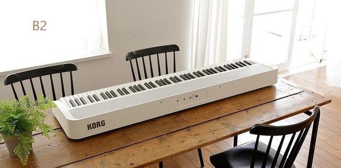 【金聲樂器】 KORG B2 88鍵 數位鋼琴 獨家送琴架