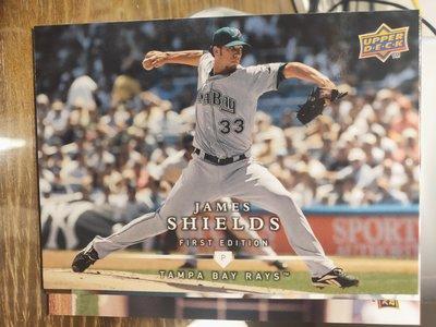 (記得小舖)MLB 2008 James Shields 坦帕灣光芒 普卡1張