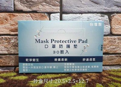 佳佳玩具 ----- 現貨 台灣製 口罩 口罩防塵保潔墊 防護墊 1盒30片裝【3714716】