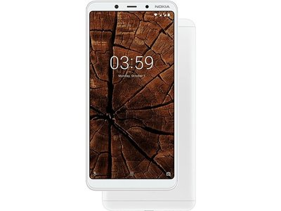 全新NOKIA 3.1 Plus  6 吋 18:9 全螢幕 全金屬機身 後置雙鏡頭 ◎ 4G 雙卡雙待 智慧型手機