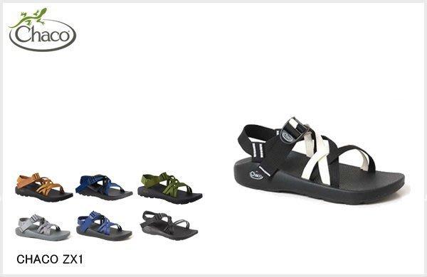 WaShiDa【ZX1】8-3 CHACO美國品牌 ZX1 YAMPA 雙織帶 戶外 防水 越野 運動 涼鞋