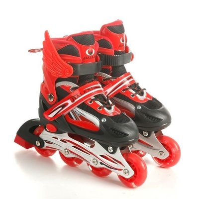 ZIHOPE 直排溜冰鞋兒童全套裝3-5-6-8-10歲初學者可調男女滑冰旱冰鞋ZI812
