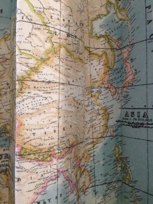 【窗的世界家飾館】20年專業製作達人,雅式多2020系列窗簾 世界地圖 西班牙進口 A7602