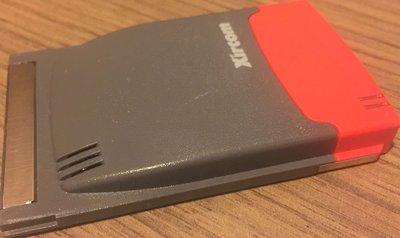 90%新「Xircom」PCMICA RealPort Card 網絡卡f手提筆記本電腦,Ethernet 10/100