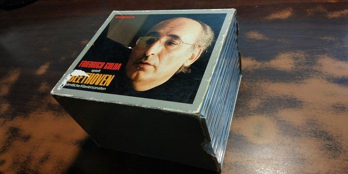 好音悅 全銀圈 Gulda 古爾達 Beethoven 貝多芬 鋼琴奏鳴曲全集 9CD AMADEO 西德版 無IFPI