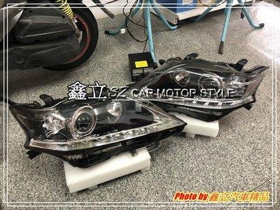 ※ 鑫立汽車精品 ※ LEXUS RX270 RX350 13-15年 LED 燈條 原廠型 魚眼 大燈 頭燈