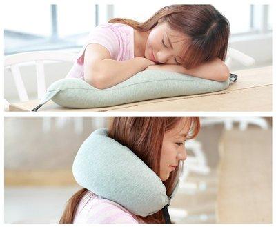 【素色U型枕】可拆洗  旅行枕 靠枕 飛行午睡枕 新款 兒童頸部頭枕安全帶 護肩套汽車 護頸枕 枕頭靠枕-AP