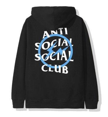 【日貨代購CITY】 Anti Social Fragment Assc Blue Bolt Hoodie 帽T 現貨
