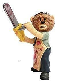 [狗肉貓]__Bad Taste Bears_壞壞熊_德州電鋸殺人魔_殺人壞壞熊_全新無盒子