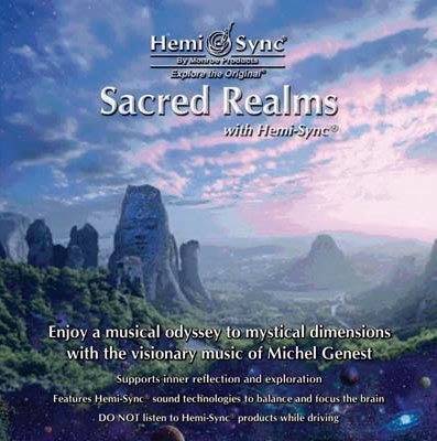 [心靈之音]美國孟羅Hemi-Sync雙腦同步系列[神聖領地]Sacred Realms-合法進口原裝新品