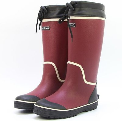 雨鞋 雨靴 超高筒橡膠雨鞋 防滑耐磨女款膠鞋棉橡膠收口水鞋 安全鞋—莎芭