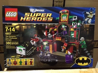 Lego 6857 Super Heroes - The Dynamic Duo Funhouse Escape