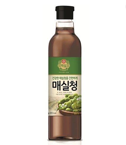 匯盈一館~韓國進口白雪牌梅子醬1025g~醬燒梅子雞,蔥燒梅子排骨醬汁調味料~現貨