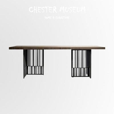工業風松木桌子(J款) 辦公桌 餐桌 ...