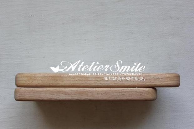 [ Atelier Smile ] 鄉村雜貨 烘焙廚房專用 櫸木厚實整木砧板 水果奶酪托盤  短款 (現+預)