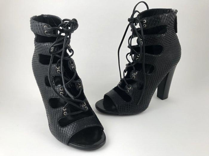 [我是寶琪] GIUSEPPE ZANOTTI X BALMAIN 黑色踝靴