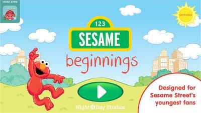 Sesame Beginnings 芝麻街寶寶系列一起觀察 學習 系列 幼教 4DVD