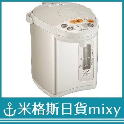 日本代購 ZOJIRUSHI 象印 CD-WY22 HA 電熱水瓶 2.2L 保溫溫度設定 灰色【米格斯日貨mixy】