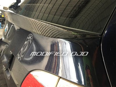 DJD19091904 BMW E61 TOURING 大五旅行車專用碳纖維後中尾翼