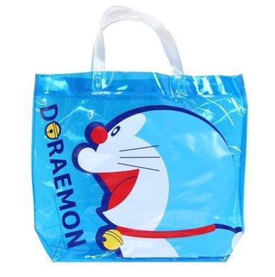 哆啦A夢圖案矽膠透明袋