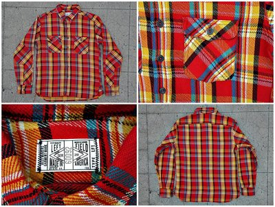 Left Field 12oz Japanese Tartan Twill Dust Bowl Work Shirt 1