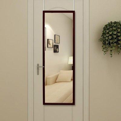 免打孔穿衣鏡全身壁掛鏡子貼墻現代簡約試衣鏡寢室鏡子全身門后鏡