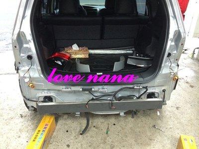 [[娜娜汽車]] 日產 2014 all new Livina專用 後保桿不銹鋼內鐵