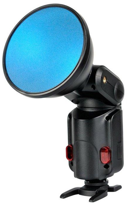 板橋富豪相機V1-11C V1 圓燈頭閃光燈 AD200 圓燈頭 色片組,15色套裝 每色2張