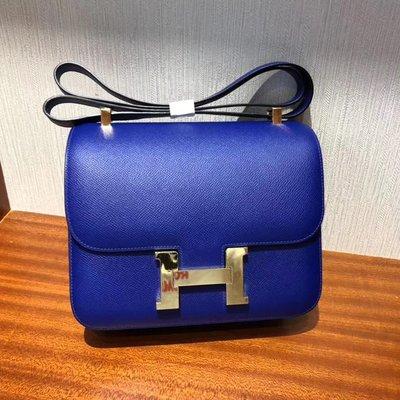 ❤️💖 Hermes Constance 24cm 7T 電光藍 Blue Electric (原廠Epsom皮) 1:1質素❤️❤️
