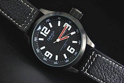 艾曼達精品~強悍iwc top gun hamilton風格OMAX plus+ 歐馬仕pilot飛行儀表板風格黑色不鏽