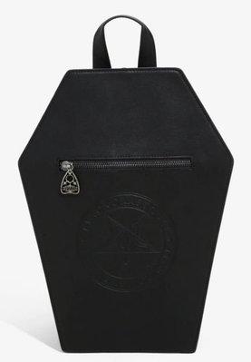 【丹】HT_BLACKCRAFT COFFIN MINI BACKPACK 黑色 棺材 造型 迷你 後背包