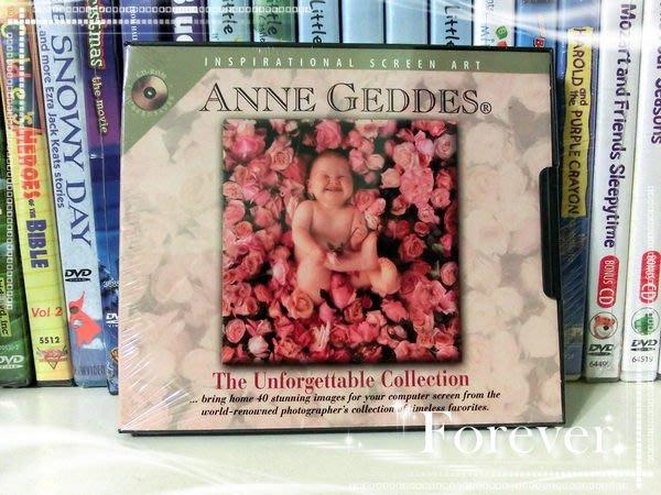 *【幼兒教育CD-ROM】小pen *來自加拿大的嬰兒攝影集Anne Geddes ~~The Unforgettable collection